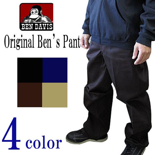 ベンデイビス BEN DAVIS メンズ ORIGINAL BEN'S PANT パンツ 太目【あす楽_年中無休】【あす楽_土曜営業】【あす楽_日曜営業】【楽ギフ_包装】