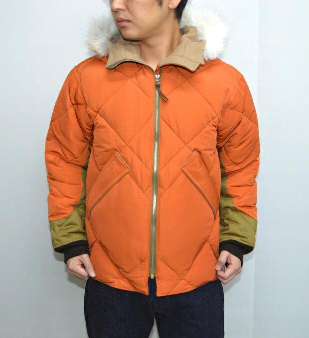 トイズマッコイ TOYS McCOY TMJ1626 ミリタリーダウンパーカー 1ジャケット オレンジ色 送料無料【楽ギフ_包装】