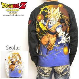 絡繰魂 ドラゴンボールZ コラボ 長袖Tシャツ 294011 ロンT 超サイヤ人覚醒 からくり魂 送料無料