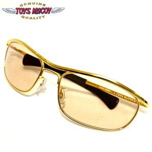 トイズマッコイ TOYS McCOY TMA2006 イージーライダーバイカーシェード ゴールド色 サングラス EASY RIDER BIKER SHADE TITANIUM SPECIAL 眼鏡 送料無料