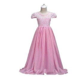 f79c1faba5364 120-170CM 8色入荷 子供ドレス ロングドレス マキシ丈 キッズワンピース 子供 ドレス