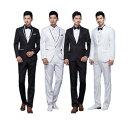 4タイプ入荷 メンズ スーツ スーツセット 上下セット タキシード メンズ タキシードフォーマル 結婚式/パーテ…