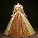 【フリーサイズ】シャンパン 貴族 衣装 オーダーメイド可能 王族服 ジュリエット カラードレス 新劇演出 現代劇演出 …