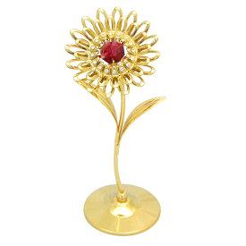 スワロフスキー SWAROVSKI/ 花 置物 5/クリスタル 誕生日 プレゼント フラワー ギフト 女性 母 友達