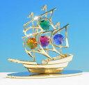 誕生日プレゼントスワロフスキー SWAROVSKI宝船の置物まとめ買いの絶好のチャンス!最安値挑戦中!