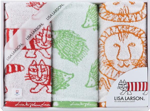 【送料無料】【ポイント2倍】リサ・ラーソン(LISA LARSON)シンプルシリーズフェイスタオルセットimabari towel(今治タオル)【出産内祝い 内祝い お返し 御祝のお返し】【御中元 御歳暮 インスタ映え】