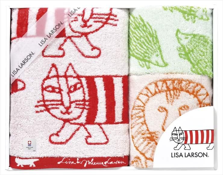 【送料無料】【ポイント2倍】リサ・ラーソン(LISA LARSON)シンプルシリーズタオルセットimabari towel(今治タオル)【出産内祝い 内祝い お返し 御祝のお返し】【御中元 御歳暮 インスタ映え】