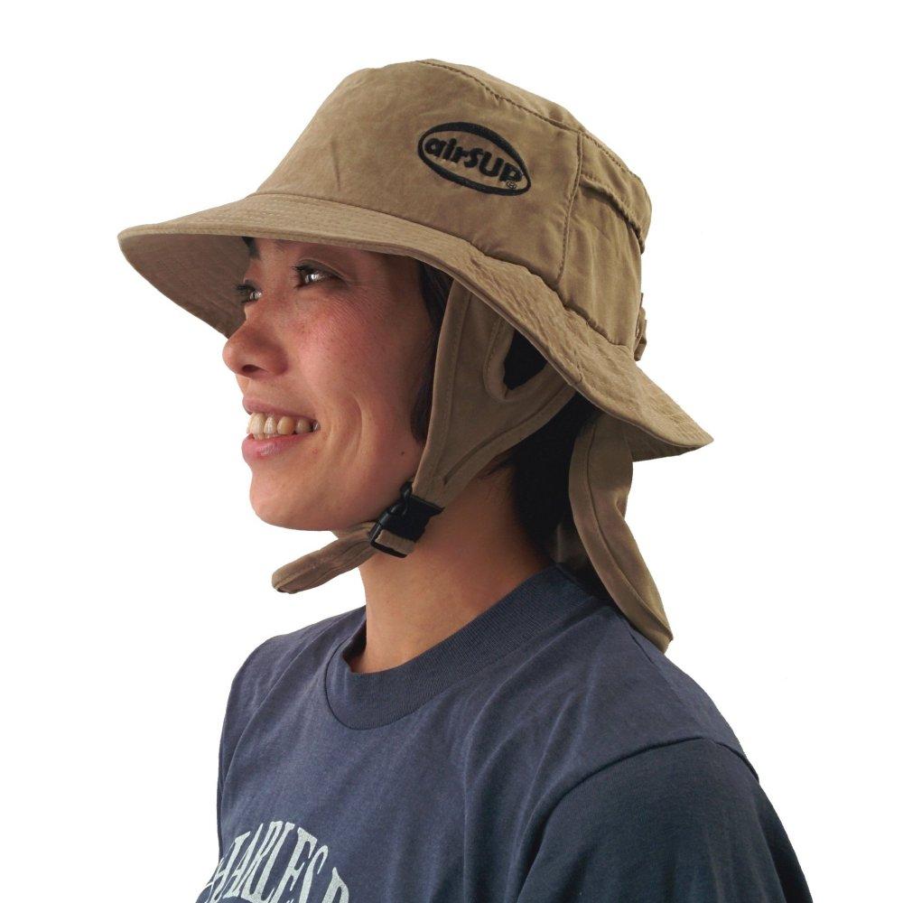 【airSUP】日差し防止用バケットハット(SUP/SUPサーフィン/パドルボード用の帽子)