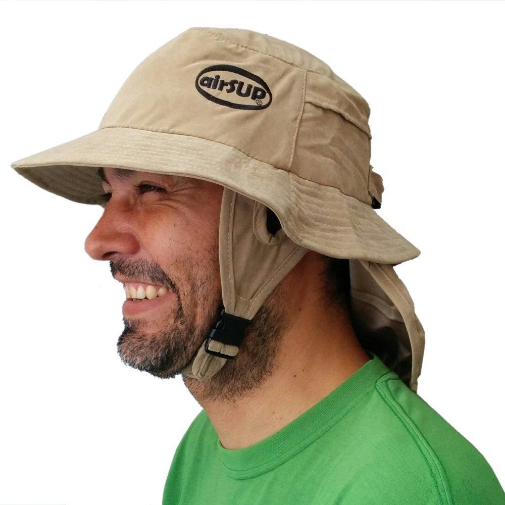 【airSUP】日差し防止用バケットハット(SUP/サーフィン/パドルボード用の帽子)