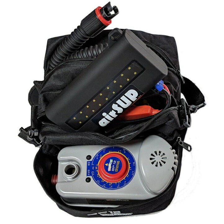 リチウム電池 バッテリー付超高圧電動ポンプ(高圧) BP-12BK airSUP 用 ジョイクラフト ゴムボート用 H3アダプター付
