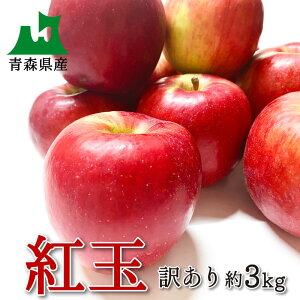 早割で100円引き!【訳あり】りんご 紅玉 3kg 約15〜20個入り