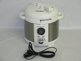 【中古】 リブセトラ 電気圧力鍋 LPC-T12      圧力式電気鍋 ホワイトシルバー 2.0L      圧力鍋 調理機 鍋 家庭用