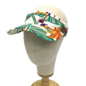 ロエベ LOEWE パウラズ イビザコレクション LOEWE Paula's サンバイザー 白 熱帯魚 ♯59 フリーサイズ 帽子【未使用】【新品】【中古】ロエベ aq4881