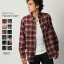 チェックシャツ メンズ ボタンダウンシャツ ネルシャツ レトロチェック メンズファッション 長袖シャツ リサイクルコットン フランネルシャツ