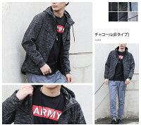 マウンテンパーカーメンズジャケットマンパー3層構造機能素材メンズファッションライトアウターJKT春春物黒ブラックグレーXL