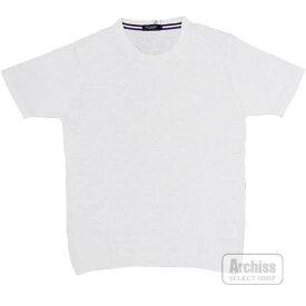 BLACK LABEL ブラックレーベルクレストブリッジ サマーニット ニット 半袖 ホワイト 麻生地 ロゴ刺繍入り 3サイズ 胸囲90-96 51N18-317-02S58604