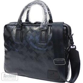 ヴィヴィアンウエストウッド Vivienne Westwood ビジネスバッグ ブリーフケース ブラック 黒 クロス ORB シリーズ 2WAY メンズ A4対応 VWB642-10S62818-19