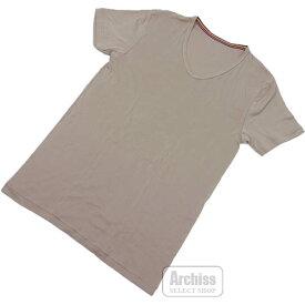 ポールスミス Paul Smith UNDERWEARTシャツ Vネック 半袖 ベージュ ショート スリーブ Lサイズ チェスト 96-104 30-1304-071S63416-18