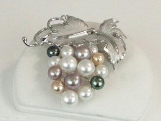 Pearl Pearl brooch Freshwater Pearl brooch freshwater perlsilvermulticaragladies, anime/manga, Mikimoto, Tiffany also patronize Pearl Pearl Moonstone