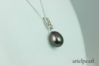 Pearls Pearl pendant black Butterfly Pearl pendant Black Pearl black green color design
