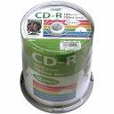 CD-R 100枚 データ用 HI DISC HDCR80GP100