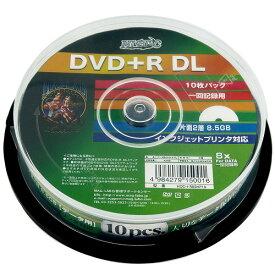 DVD+R DL 10枚 データ用 8倍速 Hi DISC HDD+R85HP10