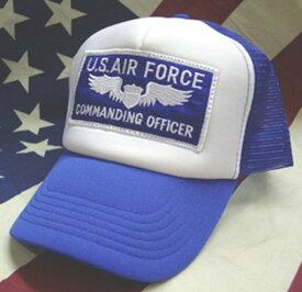 アメカジメッシュキャップ★MESH CAP★U.S.Air Force Commanding Officer★U.S.エアフォース★