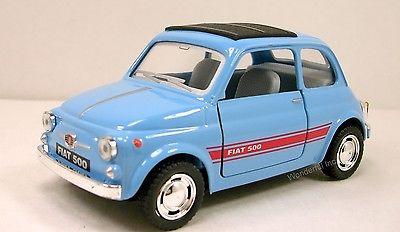 Kinsmart/キンスマート社製 FIAT 500 Nuova500  フィアット500  プルバックミニカー ダイキャスト製 ★1/24 ダイキャストモデルミニカー