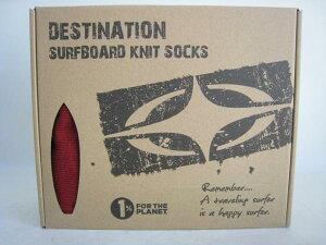 DESTINATIOND-SURFUSNATURALSOCKSSHORT6`0-6`4W.RED