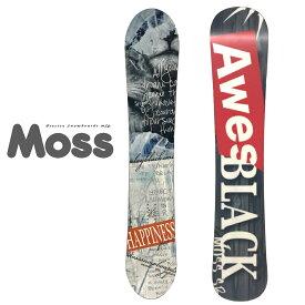 モス スノーボード トト シリーズ 2019モデル MOSS SNOWBOARDS TOTO BLACK SF 151cm