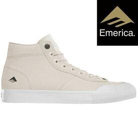 スケートボード エメリカ 2018 EMERICA INDICATOR HIGH WHITE/WHITE