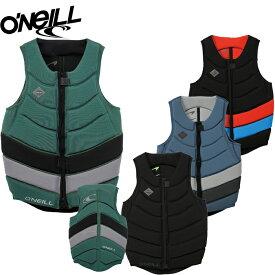 ウェイクボード ライフジャケット オニール 2020 O'NEILL GOORU TECH FRONT ZIP COMP VEST