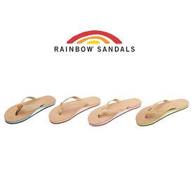 女性用 レインボーサンダル プレミアム レザー 選べる4色 RAINBOW SANDALS 301ALCMN THE NARROW TROPICS