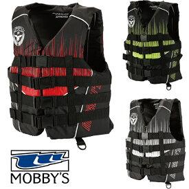 マリンスポーツ ライフジャケット 救命胴衣 PWC船検対応 ベスト モビーズ 正規品 MOBBY'S Combat 4B VEST