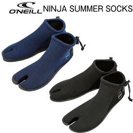 2019 O'NEILL NINJA SUMMER SURF SOCKS BOOT サーフィン オニール 忍者 サーフブーツ ソックス