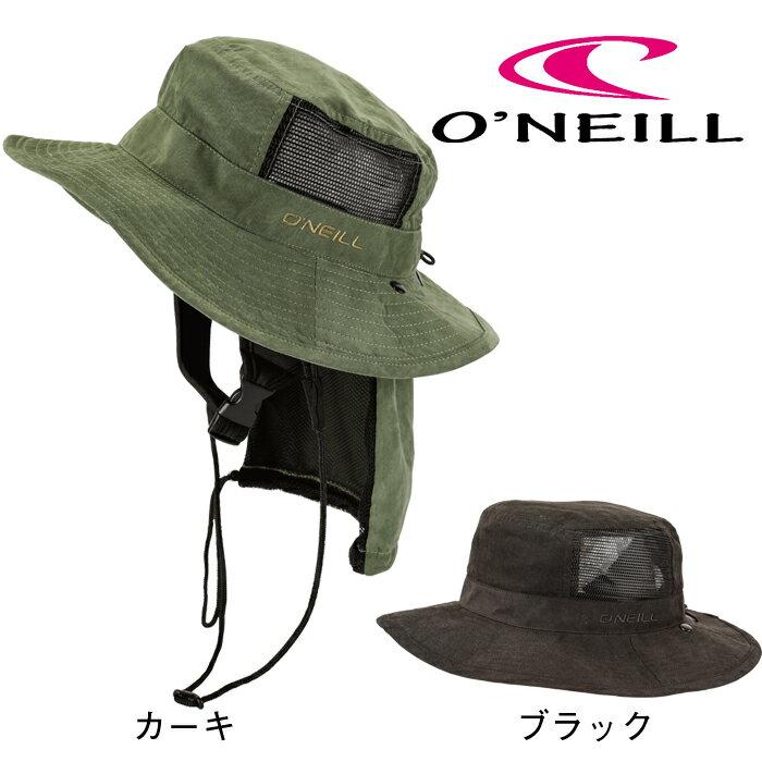 オニール サーフハット 正規品 2019 O'NEILL SURF用 WMS UVP HAT 帽子 カーキ/ブラック #629-912