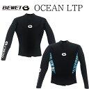 2019 BEWET ビーウェット 男性用 ウェットスーツ タッパ BE WET OCEAN 2mm LTP