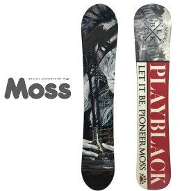 モス スノーボード トト シリーズ 2020モデル MOSS SNOWBOARDS TOTO BLACK SF 147cm
