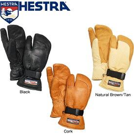 ヘストラ グローブ 2020 HESTRA 30872 3-FINGER FULL LEATHER