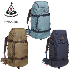 スキー スノーボード プラス ワン ワークス バッグパック PLUS ONE WORKS NEW IRWAK 38