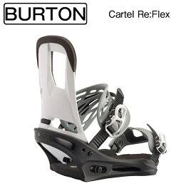 スノ−ボード ビンディング バートン 2020 BURTON BINDING Cartel Re:Flex BLACK/WHITE M US8-US11 (26cm-29cmに対応)