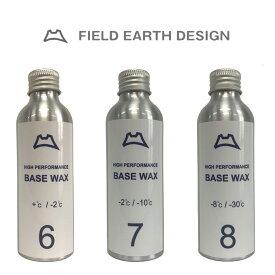FIELD EARTH DESIGN HIGH PERFORMANCE WAX LIQUID BASE α6 α7 α8 スキー スノーボード ワックス リキッド 正規品