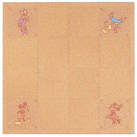 ミッキーとフレンズ■コルクカーペット/ジョイント式■185×185cm■定価28000円