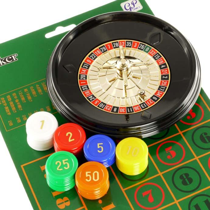 送料無料 本格カジノmini ルーレットセット 径15cmプライムポーカー 軽量ルーレットゲーム ホームパーティに最適なルーレットゲーム Ag040