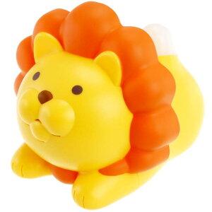 送料無料 温度計 湿度計 ライオンのおしゃべり温湿度計 黄色 EX-2984 光とおしゃべりで現在の環境を伝えてくれる Ha135