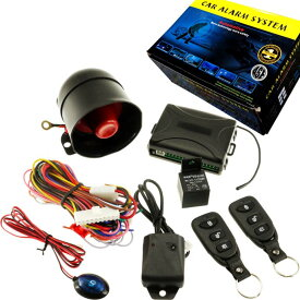 送料無料 カーセキュリティシステム キーレス連動アンサーバック付カーセキュリティシステム 車両盗難防止にカーセキュリティシステム 車上あらし防止にカーセキュリティシステム as1295