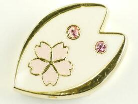送料無料 ピンク桜スライドチャームパーツAdc9495