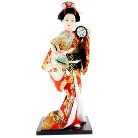 送料無料 日本人形 31cm(12インチ) 1 鼓(つづみ) 本格派人形 着物が綺麗な日本人形 ms9000