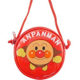 送料無料 アンパンマン 赤 丸ポシェット 財布 ポーチ キャラクターグッズ 大きなポシェットで色々入る ms075
