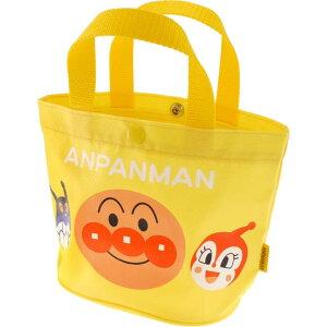 送料無料 アンパンマン 黄 手さげかばん 手提げバッグ キャラクターグッズ アンパンマン ばいきんまん ドキンちゃん ms083